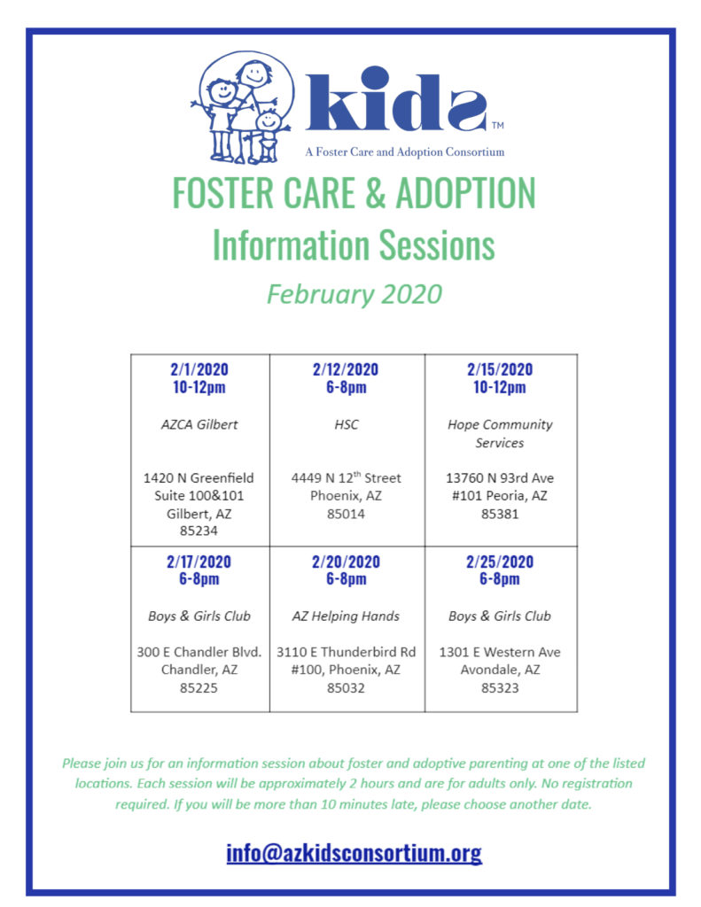 Foster Care Information Session